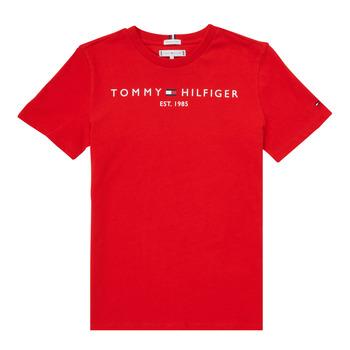 衣服 男孩 短袖体恤 Tommy Hilfiger SELINERA 红色