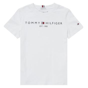 衣服 男孩 短袖体恤 Tommy Hilfiger SELINERA 白色