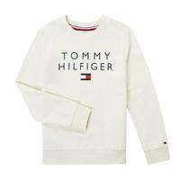 衣服 男孩 卫衣 Tommy Hilfiger HERTINA 白色