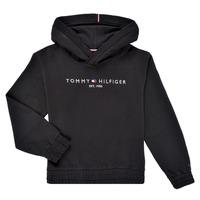 衣服 女孩 卫衣 Tommy Hilfiger DEMINRA 黑色