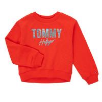 衣服 女孩 卫衣 Tommy Hilfiger KOMELA 红色