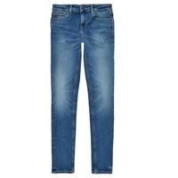 衣服 女孩 牛仔铅笔裤 Tommy Hilfiger JEANNOT 蓝色