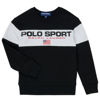 衣服 男孩 卫衣 Polo Ralph Lauren SIMEON 黑色