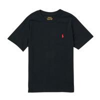衣服 男孩 短袖体恤 Polo Ralph Lauren FANNY 黑色
