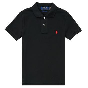 衣服 男孩 短袖保罗衫 Polo Ralph Lauren HOULIA 黑色