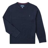 衣服 男孩 羊毛衫 Polo Ralph Lauren DENILA 海蓝色
