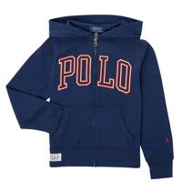 衣服 男孩 卫衣 Polo Ralph Lauren FERINA 海蓝色