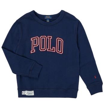 衣服 男孩 卫衣 Polo Ralph Lauren KAMILLAR 海蓝色