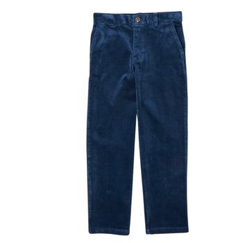 衣服 男孩 多口袋裤子 Polo Ralph Lauren FRETTI 海蓝色