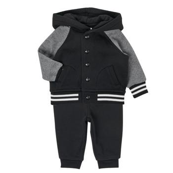衣服 男孩 女士套装 Polo Ralph Lauren DENILO 黑色 / 灰色