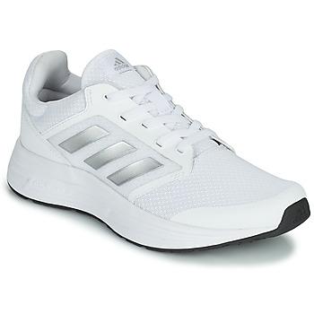 鞋子 女士 跑鞋 adidas Performance 阿迪达斯运动训练 GALAXY 5 白色