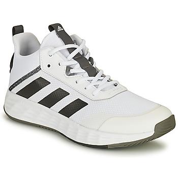 鞋子 男士 篮球 adidas Performance 阿迪达斯运动训练 OWNTHEGAME 2.0 白色 / 黑色