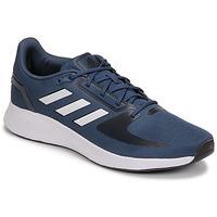 鞋子 男士 跑鞋 adidas Performance 阿迪达斯运动训练 RUNFALCON 2.0 海蓝色