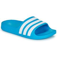 鞋子 儿童 拖鞋 adidas Performance 阿迪达斯运动训练 ADILETTE AQUA K 蓝色 / 白色