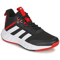 鞋子 儿童 篮球 adidas Performance 阿迪达斯运动训练 OWNTHEGAME 2.0 K 黑色 / 红色