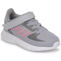 鞋子 女孩 跑鞋 adidas Performance 阿迪达斯运动训练 RUNFALCON 2.0 I 灰色 / 玫瑰色