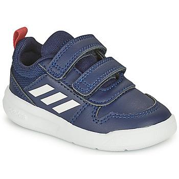 鞋子 儿童 球鞋基本款 adidas Performance 阿迪达斯运动训练 TENSAUR I 海蓝色 / 白色