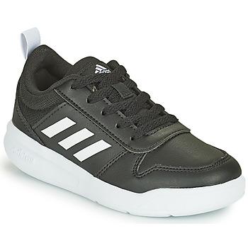 鞋子 儿童 球鞋基本款 adidas Performance 阿迪达斯运动训练 TENSAUR K 黑色 / 白色