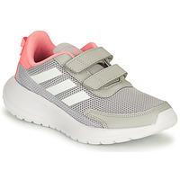 鞋子 女孩 跑鞋 adidas Performance 阿迪达斯运动训练 TENSAUR RUN C 灰色 / 玫瑰色