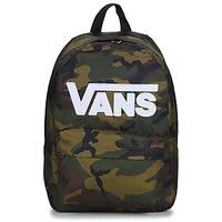 包 双肩包 Vans 范斯 NEW SKOOL BACKPACK 卡其色 / 白色