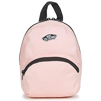 包 女士 双肩包 Vans 范斯 GOT THIS MINI BACKPACK 玫瑰色