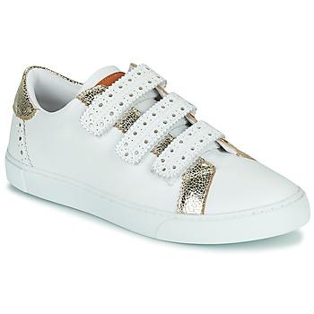 鞋子 女士 球鞋基本款 Les Tropéziennes par M Belarbi SUZETTE 白色 / 金色
