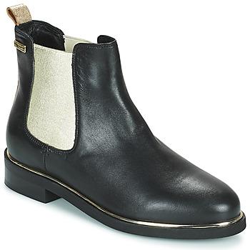 鞋子 女士 短筒靴 Les Tropéziennes par M Belarbi MICKY 黑色 / 金色