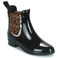 鞋子 女士 雨靴 Les Tropéziennes par M Belarbi RAINBOO 黑色 / Leopard