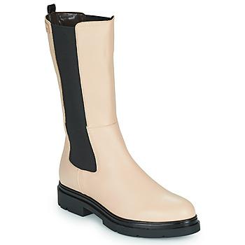 鞋子 女士 短筒靴 Les Tropéziennes par M Belarbi SADDIE 米色 / 黑色