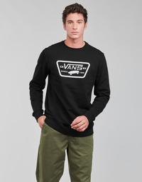 衣服 男士 卫衣 Vans 范斯 FULL PATCH CREW II 黑色