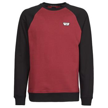 衣服 男士 卫衣 Vans 范斯 RUTLAND III 波尔多红 / 黑色