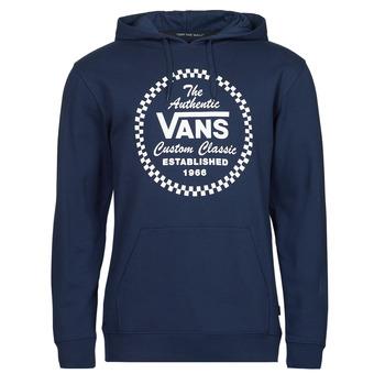衣服 男士 卫衣 Vans 范斯 ATHLETIC PO 蓝色