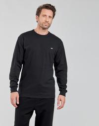 衣服 男士 长袖T恤 Vans 范斯 OFF THE WALL CLASSIC LS 黑色