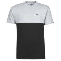 衣服 男士 短袖体恤 Vans 范斯 COLORBLOCK TEE 灰色 / 黑色