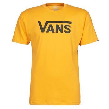 衣服 男士 短袖体恤 Vans 范斯 VANS CLASSIC 黄色 / 黑色