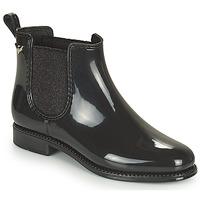 鞋子 女士 雨靴 Les P'tites Bombes RAIN 黑色
