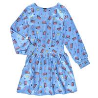 衣服 女孩 短裙 Billieblush STIKA 蓝色