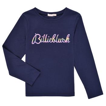 衣服 女孩 长袖T恤 Billieblush PETRA 海蓝色