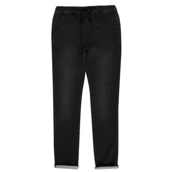 衣服 男孩 多口袋裤子 Teddy Smith 泰迪 史密斯 JOGGER SWEAT 黑色