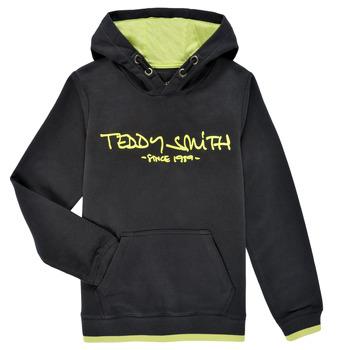 衣服 男孩 卫衣 Teddy Smith 泰迪 史密斯 SICLASS HOODY 黑色