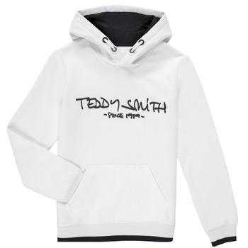 衣服 男孩 卫衣 Teddy Smith 泰迪 史密斯 SICLASS HOODY 白色