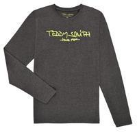 衣服 男孩 长袖T恤 Teddy Smith 泰迪 史密斯 TICLASS3 ML 灰色