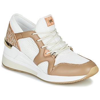 鞋子 女士 球鞋基本款 Michael by Michael Kors LIV 驼色 / 白色