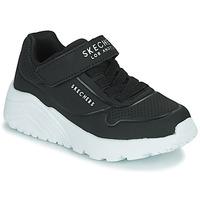 鞋子 儿童 球鞋基本款 Skechers 斯凯奇 UNO LITE 黑色