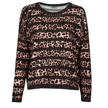 衣服 女士 羊毛衫 Liu Jo WF1538 Leopard