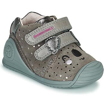 鞋子 女孩 球鞋基本款 Biomecanics BIOGATEO CASUAL 灰褐色