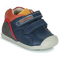 鞋子 男孩 球鞋基本款 Biomecanics BIOGATEO CASUAL 海蓝色