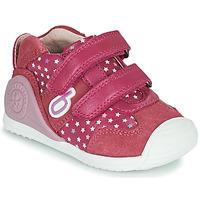 鞋子 女孩 球鞋基本款 Biomecanics BIOGATEO SPORT 玫瑰色