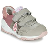 鞋子 女孩 球鞋基本款 Biomecanics BIOEVOLUTION SPORT 灰色 / 玫瑰色