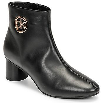 鞋子 女士 短筒靴 Calvin Klein Jeans CYLINDER ANKLE BOOT 黑色